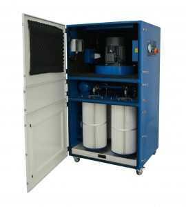 filter-systemen, budget-fiberlaser-snijmachines - 500 m3 luchtfilter air scrubber laser ventilatie IQ