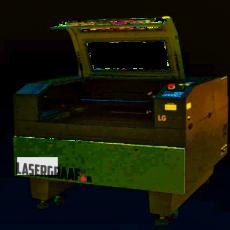 werkplaats-machines, lasersnijden, co2-laser-machines - 90x60 cm. BIANCA CO2 lasercutter