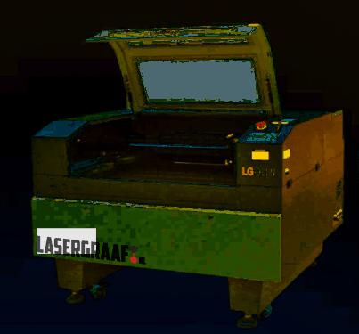- 90x60 cm. BIANCA CO2 lasercutter