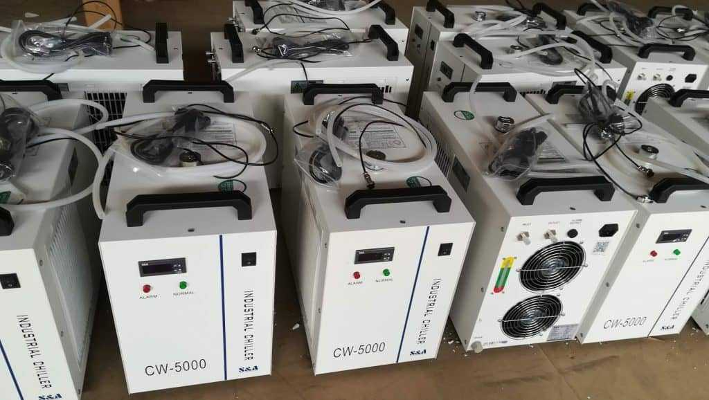 onderdelen, koelmachines, accesoires - CW-5000 actieve koelmachine