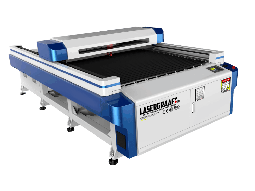 "pro-line-series, lasersnijden, co2-laser-machines - CO2 portaal laser 135 x 250 cm ""Ivy"""
