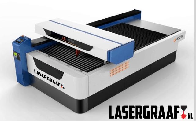 """werkplaats-machines, metaal-laser, maak-machines, lasersnijden, co2-systemen, co2-laser-machines - Metaal portaal laser 130 x 250 cm. """"Donna"""""""