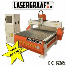 werkplaats-machines, maak-machines, freesmachines - CNC portaalfrees Paula 250x130cm vacuumtafel