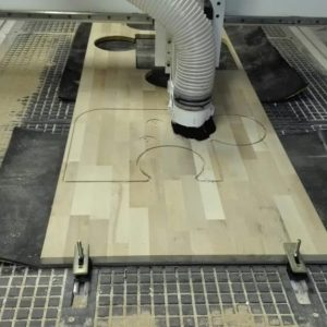 - CNC portaalfrees Paula 250x130cm vacuumtafel