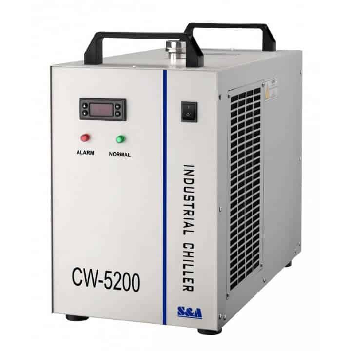 werkplaats-machines, onderdelen, koelmachines, accesoires - CW-5200 actieve koelmachine