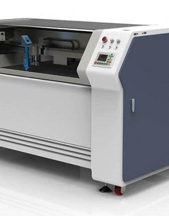 """fiber-laser-machines-met-klasse-1-behuizing, combinatie-lasers, metaal-verwerkende-fiber-laser, co2-laser-machines - 130 x 90 cm. Combi metaal laser """"MIRTHE"""""""