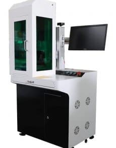 "pro-line-series, q-switched-fiber, mopa-fiber, fiber-markeer-machines - Q-switched fiber markeer laser ""EMMA"" full desk"