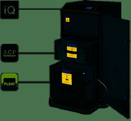 onderdelen, filter-systemen, bofa-filters, accesoires - BOFA AD 500 IQ 1000 IQ 1500 IQ filtersystemen