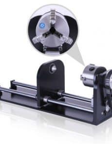 onderdelen, lasersnijden, co2-laser-machines, accesoires - rotatie module voor CO2 laser machines