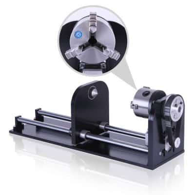 onderdelen, lasersnijden, accesoires - rotatie module voor CO2 laser machines