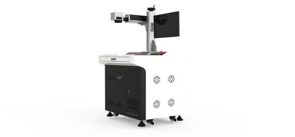 """fiber-lasers-metaal-laser, metaal-laser, q-switched-fiber, mopa-fiber, budget-fiberlaser-snijmachines - 20-100 W fiber laser """"Alice"""" open desk"""