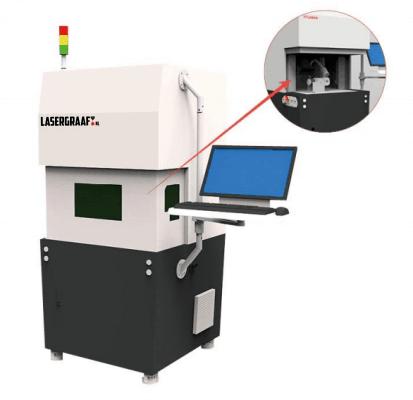 "q-switched-fiber, mopa-fiber, metaal-laser, fiber-lasers-metaal-laser, fiber-lasers - Fiber laser MOPA technologie 20 watt veiligheidsbehuizing ""DAISY"""