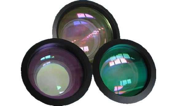 onderdelen, lenzen, accesoires - F-theta lens voor fiberlasers 1064nm