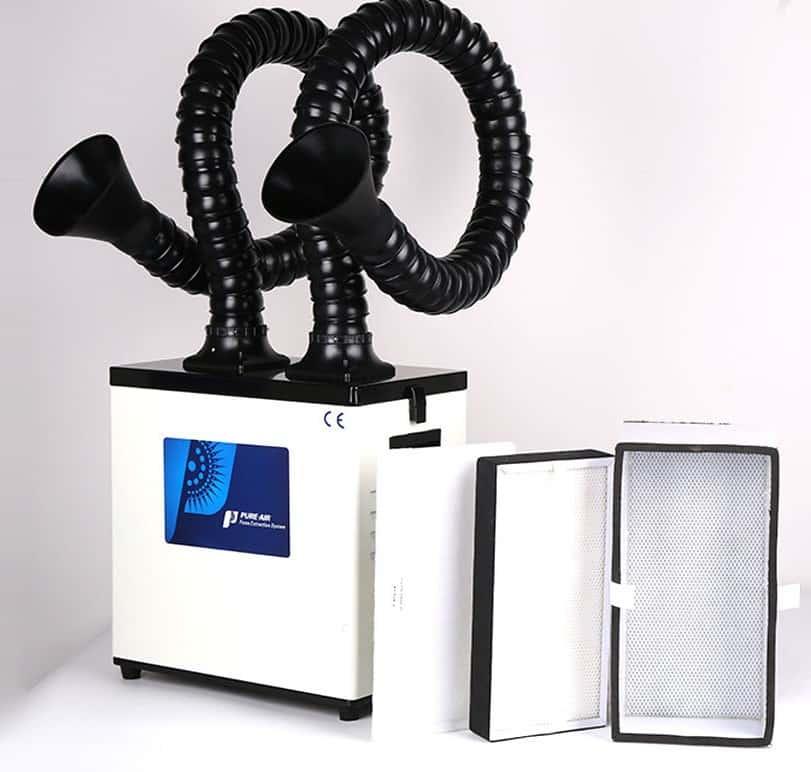 - afzuiging filterinstallatie fiberlaser dubbel | scrubber-300