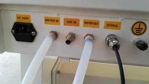 - Installatie van uw (kleinere) CO2 machine