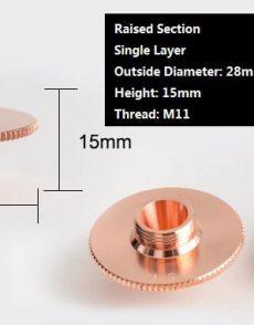 onderdelen, metaal-laser, industriele-fiber-lasera, fiber-lasers-metaal-laser, fiber-lasers, accesoires - fiber laser nozzle lasertip snijkop slijtdelen