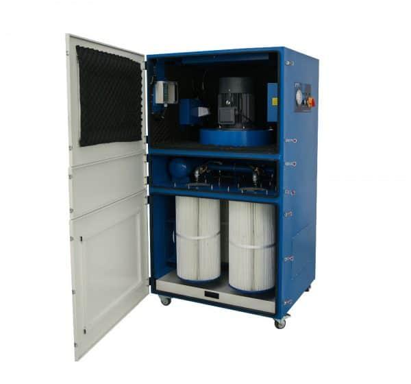 industriele-fiber-lasera, filter-systemen, bofa-filters - fiber laser filter systeem 5000 m3/uur metaal