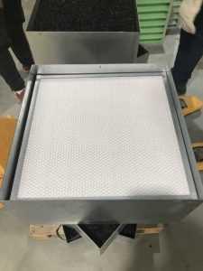 filter-systemen - filter cassettes voor de 500 m3 per uur HEPA filter units